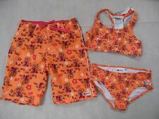 LEGO schöner Bikini ALBERTINE m. Boardshorts orange Gr. 152 NEU ST818