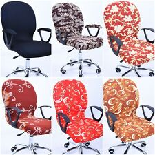 Swivel Computer Chair Cover Stretch Office Spandex Armchair Protector Seat Decor