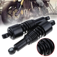 10.5'' Rear Air Shock Absorber For Harley Yamaha Davidson Sportster Dyna Black