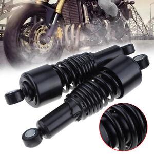 10.5'' Rear Air Shock Absorber For Harley Yamaha Davidson Sportster Dyna Black