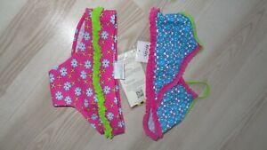 Bikini rosa pink blau weiß Sonnenschutzkleidung UV Schutz Playshoes Gr. 122 128