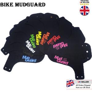 UK MTB Mudguard Mountain Bike Mud Guard Bicycle Front Tyre Splash Rear or Front