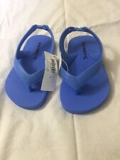 Old navy flip flops w/ back strap toddler girl 5 nwt