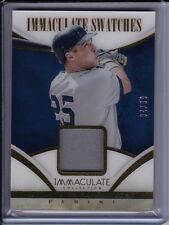 Mark Teixeira 2014 Panini Immaculate Jersey Relic Card #'d /99 Swatches