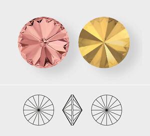 14mm   Rivoli   Swarovski Article 1122   12 Pieces - Choose Crystal Color