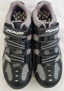 SPECIALIZED Spirita Road Women's Shoe, Black/Grey, 36 EU / 6 US