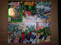 Hulk 2099 #1,2,4,6,8+#10-Hulk vs Wolverine-Infinity War-Todd McFarlane-Professor