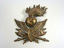"""Insigne Casquette ou Béret Début XX°, """"6-ème Régiment Etranger d'Infanterie"""""""