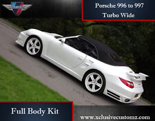 Porsche 911 996 to 997 Turbo Wide Full Body Kit Conversion