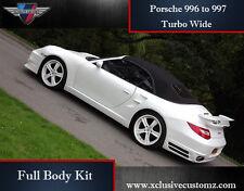 Porsche 911 996 to 997 Turbo Wide Full Body Kit Conversion