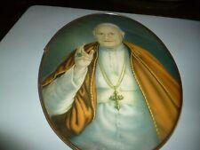 cadre pape ovale vieux a déterminer