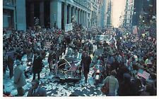 HOSTAGES Broadway TICKER TAPE PARADE  New York City NY Postcard 1981