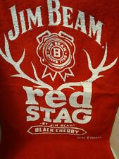 red Stag Jim Beam®Golf / Bar Red Towel by Jim Beam® Black Cherry Drink Smart™
