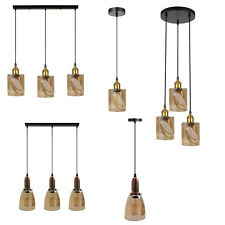 Modern Vintage E271/3Way Retro Ceiling Light Industrial Metal Pendant Lamp Light