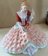 RARE Royal Dux Bohemia Figurine. Czech Porcelain