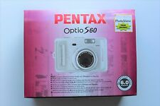 Pentax Optio S60 6MP Digital Camera, 3x Optical Zoom