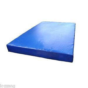 Taekwondo Blue Mattress Sports Gym Mat Exercise Fitness Roll Crashyy