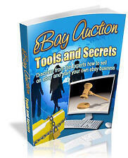 EARN MONEY LEARN HOW ITS DONE - EBAY AUCTION TOOLS AND SECRETS (PDF CD)