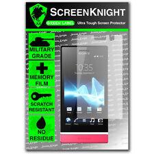 ScreenKnight Sony Xperia U SCREEN PROTECTOR invisible Military Grade shield