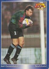 N°185 CORMINBOEUF # SUISSE XAMAX CARTE PANINI FOOTBALL 95 FRANCE CARDS 1995