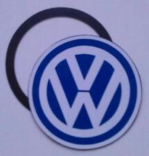 Magnetic Tax disc holder fits  volkswagen vw golf polo passat touran  blue white