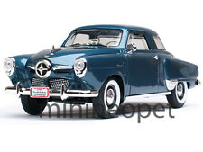 ROAD SIGNATURE 92478 1950 50 STUDEBAKER CHAMPION 1/18 DIECAST DARK BLUE