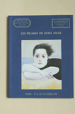 Les PICASSO de DORA MAAR Catal.1998  Balthus Cocteau Fenosa Miro DOMINGUEZ PHOTO