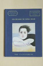 Les PICASSO de DORA MAAR Catal.1998  Balthus Cocteau Fenosa Miro DOMINGUEZ PHOTO