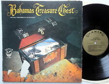 BAHAMAS TREASURE CHEST LP Nassau Calypso die-cut jacket