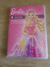 BARBIE -  4 Movie Princess Collection - 4 Disc DVD Set