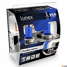 2x LUNEX H4 PLASMA XENON Headlight Halogen Bulbs 12V 60/55W P43t 5000K Hard Case
