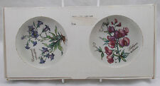 Villeroy & and Boch BOTANICA boxed pair of bottle coasters BL874 unused