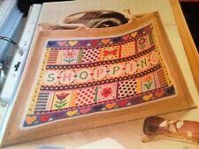 Cross stitch chart Shopping Coeur Fleur Papillon Sampler Chart seulement