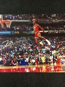 Michael Jordan Autographed Signed 8x10 Photo w/COA