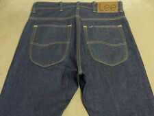 075 MENS NWT LEE 'SWAGGER' STR8 DARK BLUE JEANS 31 / 34L $160.