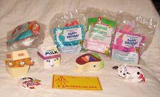 4 New McDonald's Toys+ 3 Food Fundamentals, 101 Dalmations, License Plate + Clip