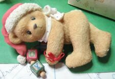 Cherished Teddies JOLENE Christmas 176133 No Papers - Dropping You a Holiday Gre