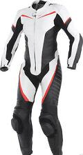 Ladies Women Motorbike Motorcycle Genuine Cowhide Leather Racing Suit CE Armour