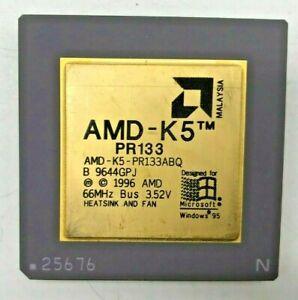 AMD AMD-K5 PR133 (AMD-K5-PR133ABQ) - 66MHz - 3,52V - Sockel 7 #706