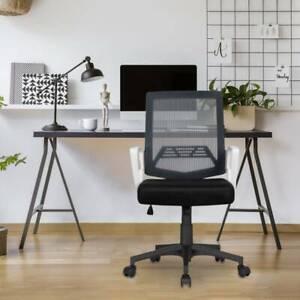Mesh black Computer Office chair seat Soft cushion Swivel chair 360% spin