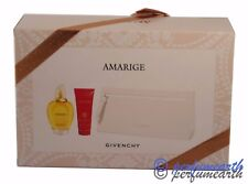 AMARIGE BY GIVENCHY 3 PIECES GIFT SET WITH 3.3 OZ EDT SPRAY IN A GIFT SET
