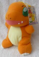 Official Banpresto Pokemon 1998 UFO Charmander Soft Plush Toy Doll Japan MWMT 8""
