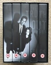 The X Files - Season 1 1995. VHS 5 Tape Limited Edition Box Set