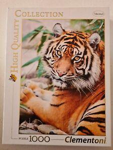 Clementoni Sumatran Tiger 1000pc Jigsaw Puzzle