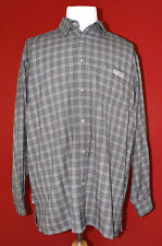 Mecca USA Mens Long Sleeve Button-Down Shirt Size L Large