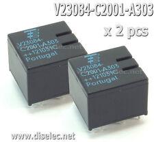 2 RELÉS V23084-C2001-A303 TYCO, V23084C2001A303 BMW AUDI VW, CITROEN, MERCEDES