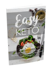 Easy Keto eBook PDF w/ Full Master Resell Rights + Checklist