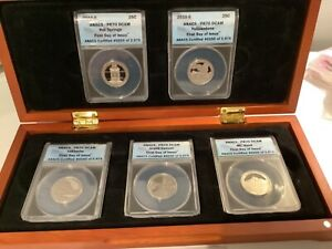 National Parks 2010-S ANACS Proof 70 DCAM 1st day of Issue 5 Set 250/3975 A22.30