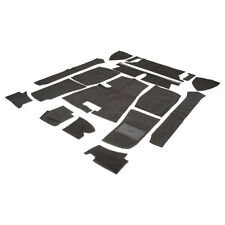 MGB Carpet set Left Hand drive Black Nylon Standard 1968-1980 NEW 244-315 Moss