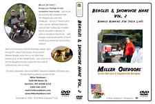 RABBIT HUNTING Video DVD ~ BEAGLES/Snowshoe Hare Vol. 2 * Miller Outdoors Hunt